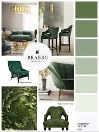 Accent Colors For Green Home Decor Color Trends For Spring 2017 According To Pantone
