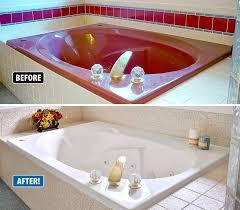 tub refinishing jacuzzi tub