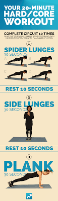 Your 20-Minute Hard/Core Workout