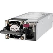 HPE 500W Flex Slot Platinum Hot Plug Low <b>Halogen Power Supply</b> ...