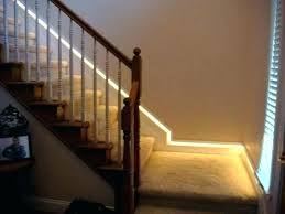 Indoor stair lighting Classic Contemporary Indoor Stair Lighting Interior Stairway Lights Comfortable Led Recessed Light Kit Intended For Stairs Uk Battery Operated Stair Lights Youngandfoolish Indoor Stair Lighting Led Lights For Stairs Kit Uk Fixtures