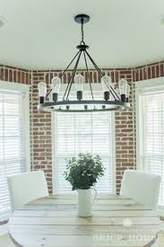 industrial farmhouse dining room makeover orc reveal