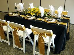 6 foot table dimensions 6 foot banquet table black x two gold satin sashes 6 foot 6 foot table dimensions