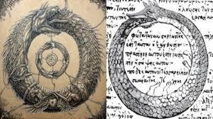 уроборос змея кусающая себя за хвост