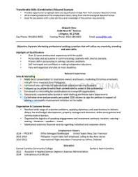 Resume Template Combination Resume Sample Best Sample Resume