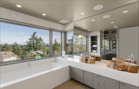 recessed lighting for bathrooms. Adding Recessed Lighting Is An Easy Way To Add A Layer Of Light Your Bathroom Vanity. Provides Ample Without Interfering With For Bathrooms