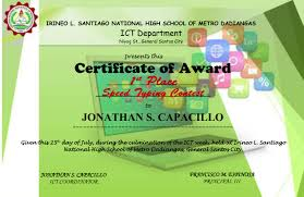 Making A Certificate Certificate Of Award Sample Only Jonathancapacillo