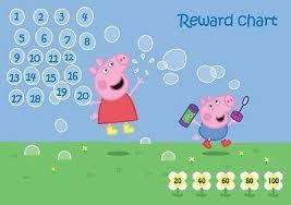 Peppa Pig Reward Chart 3 49 Picclick Uk