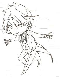 black butler sebastian coloring pages collection 13 e image result for