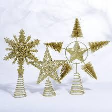 Großhandel Ornamente Gold Star Frohe Weihnachtsbaum Schlafzimmer