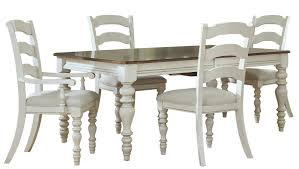 Hillsdale Dining Table Hillsdale Pine Island 5 Pc Dining Set With Ladder Back Chairs