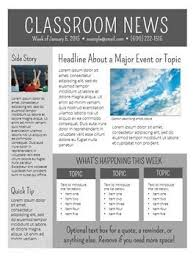 Newsletters Templates Newsletter Templates Editable School Newsletter Template