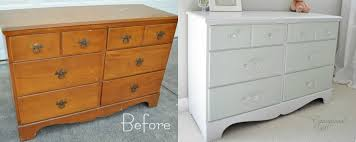 painting wood furniture white15 Painted Furniture Makeovers Youll Love  Porch Advice