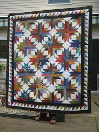 1430 best Quilt Patterns images on Pinterest | Stitching ... & Pineapple blossom quilt made by someone at the Kalamazoo workshop. Adamdwight.com