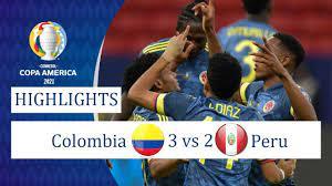 Colombia vs Peru 3-2 Resumen Y Goles ...