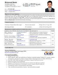 IT administrator Resume. Objective & Career Summary Aiming to work in a  highly competitive environment where I can utilize ...