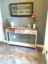 antique foyer furniture. Antique Foyer Table Furniture Our Rustic Entryway . E