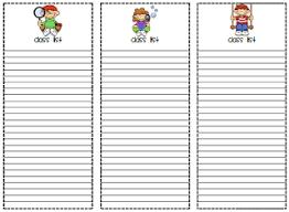 Cute Lists Cute Class Lists Checklists Freebie