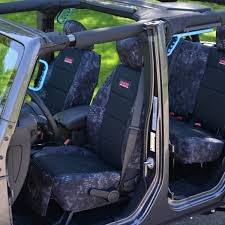 2016 17 jeep wrangler jk front and rear seat covers