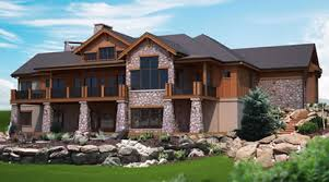Hillside House Designs and House Plans With A Walk Out BasementHome Plan Detail