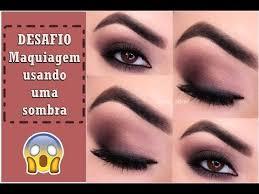✨Desafio: Maquiagem com uma sombra | Pele Madura - Priscilla Oliver -  YouTube