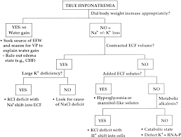 Fashion Flow Chart An Approach To The Patient With Hyponatremia Is Demonstrated
