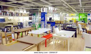 tables and chairs at an ikea store i canada dwwa1p