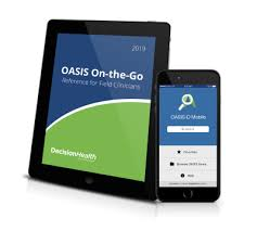 Oasis Charting For Home Health Oasis On The Go Reference For Field Clinicians Oasis D Mobile