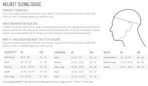 Poc Bike Helmet Size Chart 79 Exact Giro Youth Helmet Size Chart