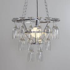 hanging glass chandelier modern ceiling pendant