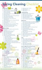 cleaning checklist spring cleaning checklist