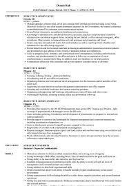 Executive Admin Resume Executive Admin Resume Samples Velvet Jobs 8