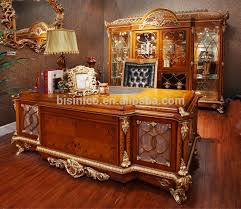 executive desk wooden classic. french baroque style luxury executive office desk european classic wood carving writing table retro wooden d