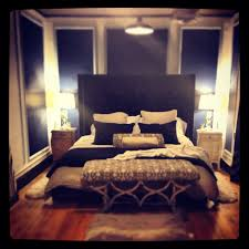 Tan Bedroom Master Bedroom With A City View Navy Blue White And Tan