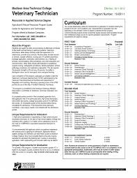 Veterinary Technician Resume Examples Of Resumes Animal Care Sample