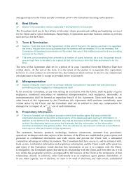 Marketing/business/management] Consulting Agreement