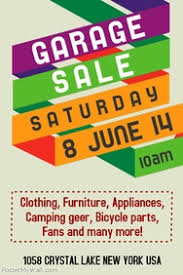 Customize 530 Garage Sale Flyer Templates Postermywall