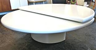 rotating coffee table awesome rotating coffee table reeves antiques mid century modern triplo round swivel coffee table