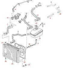 porsche 944 cooling hose kit 8 valve 944 8 valve cooling hoses 85 89