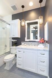 traditional bathroom lighting ideas white free standin. How-To-Make-A-Small-Bathroom-Look-Bigger8 How Traditional Bathroom Lighting Ideas White Free Standin