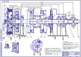 Подъемный вал лебедки ЛБУ к Чертеж Оборудование для бурения  Подъемный вал лебедки ЛБУ 1200к Чертеж Оборудование для бурения нефтяных и газовых скважин