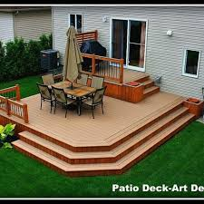 Small Picture Two Tier Decks Design Ideas Pictures Remodel and Decor