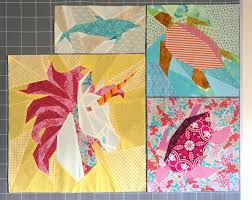 Paper Piecing Patterns New Unicorn Pattern Robynieland