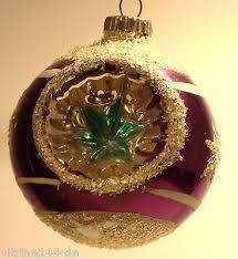 Alter Christbaumschmuck Weihnachtsschmuck Reflex Kugel