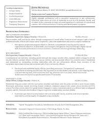 Cover Letter For On Campus Job On Campus Job Resume Sample