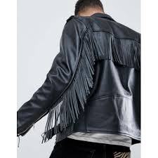 the search for your next trophy jacket is over 1254871 reclaimed vintage revived fringed leather biker