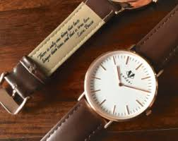 personalized watch personalized men s watch rose gold classic style