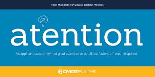 resume mistakes resume career builder