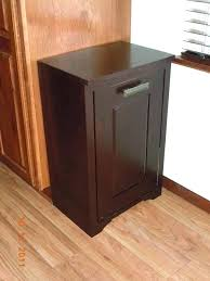 double wooden trash bin double wooden trash bin imposing kitchen ideas
