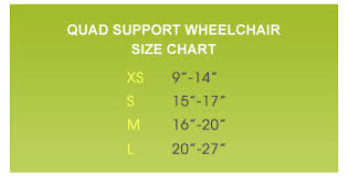Wheelchair Size Chart Sizing Dog Wheelchairs